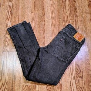 Levi's mens 513 (slim straight) jeans 36 x 34